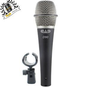 Microfone Dinâmico Premium D-90 - Cad Áudio