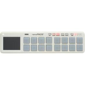Teclado Controlador USB MIDI NANOPAD-2 WH - Korg