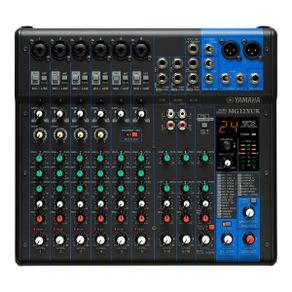 Mesa De Som 12 Canais USB E FX MG-12 XUK - Yamaha