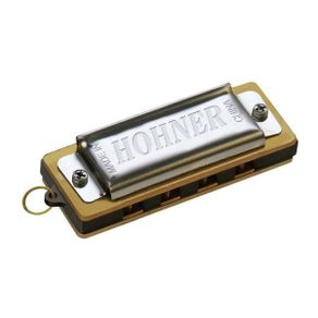 Mini Gaita Harmônica Diatônica Afinação Dó MINI HARP-C - Hohner