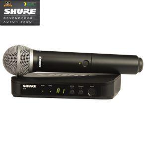 Sistema De Microfone Sem Fio De Mão BLX-24BR/PG-58 J10 - Shure