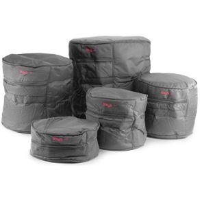 Kit De Bag Para Tambores De Bateria PBS-1 ECO/5 - Stagg