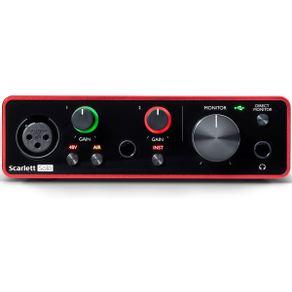 Interface de Áudio 2.0 SCARLETT SOLO G-3 - Focusrite