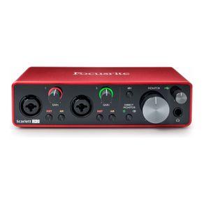Interface de Áudio 3nd Gen SCARLETT-2i2 - Focusrite
