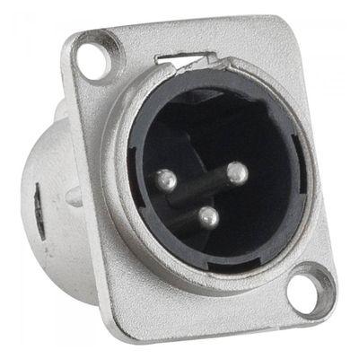 Conector-XLR-Painel-3-Polos-Macho-Niquelado---Santo-Angelo