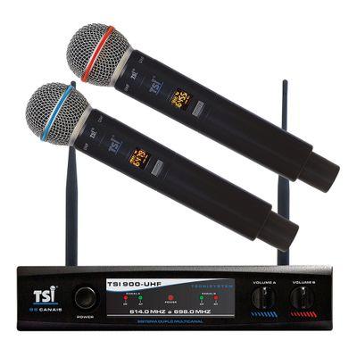 microfone-sem-fio-duplo-uhf-tsi-900-uhf-tsi-1