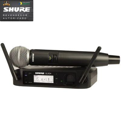 Microfone-Sem-Fio-Digital-De-Mao-GLXD-24-SM-58---Shure