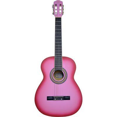 Violao-Classico-Nylon-Rosa-MC-39-PK---Maclend
