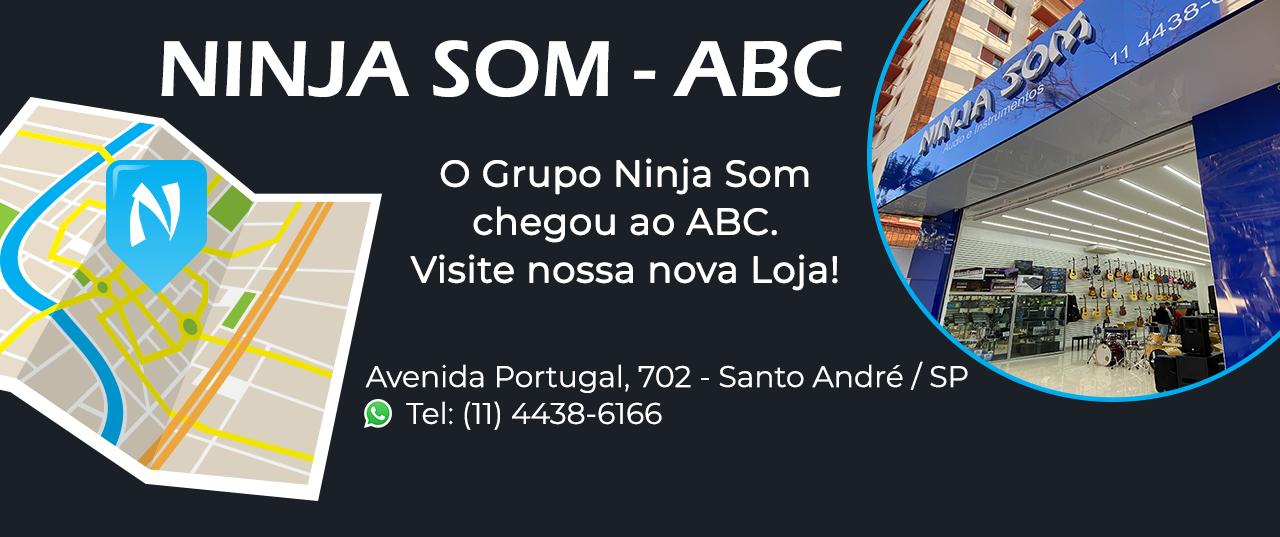 Banner Ninja Som - Santo Andre